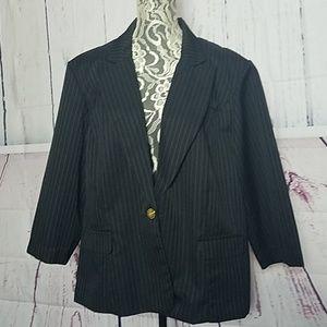 Jemma pinstripe suit jacket